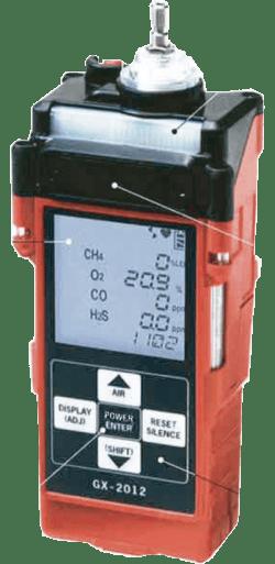 (Esp) Monitor Multigases portátil con bomba GX-2012